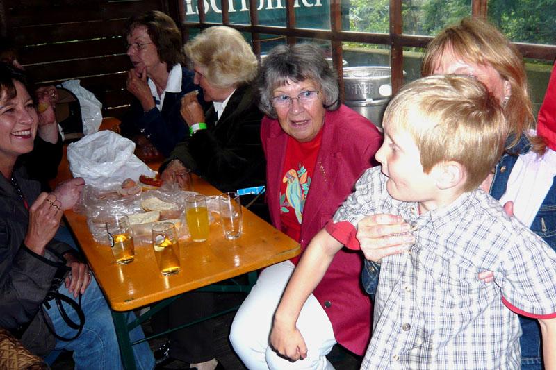 Bier- und Limokränzchen